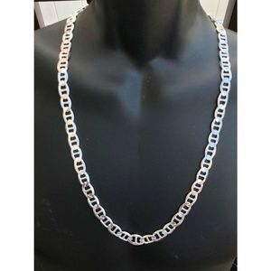 Men's Solid 925 Sterling Silver Chain Mariners